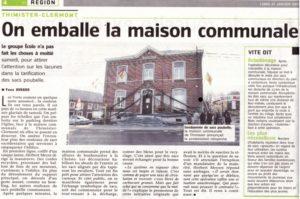 La politique des déchets à Thimister-Clermont : « De zwarte Piet » !